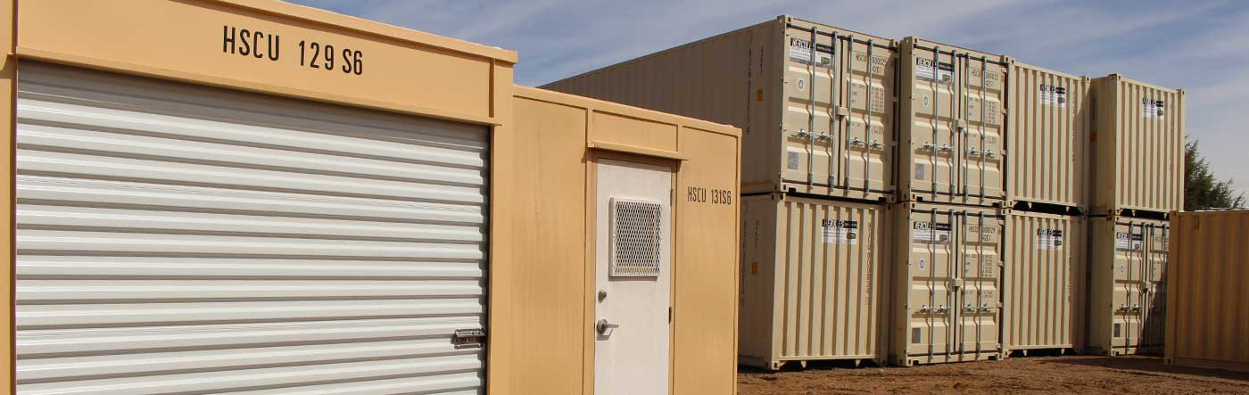 Storage Container Office & Hercules Storage Containers | Portable Steel Containers | Durango