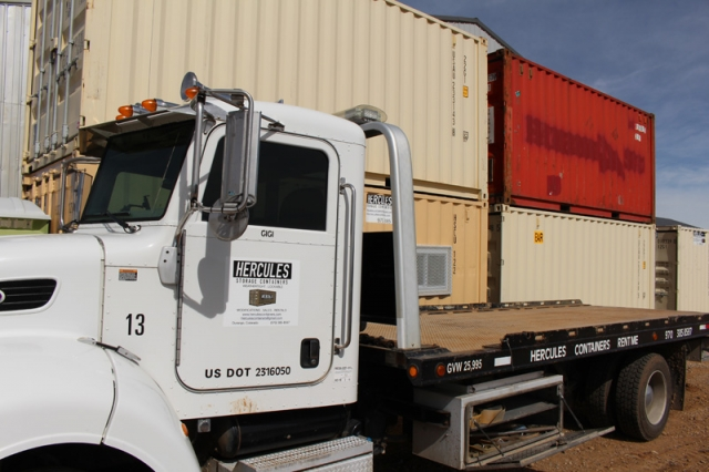 Flatbed Hercules Truck