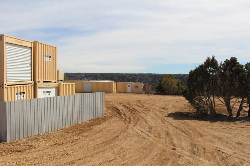 Container Storage Area